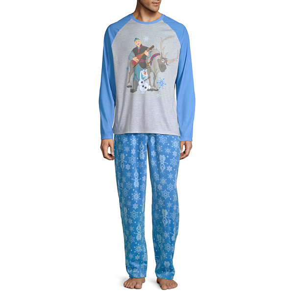 Disney Frozen Family Men's 2 Piece Pajama Set
