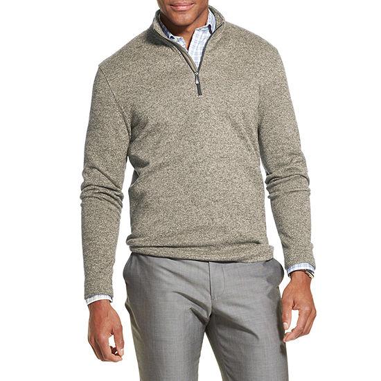 Van Heusen Flex Quarter-Zip Pullover Sweater