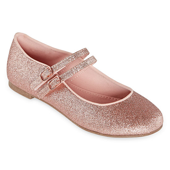 Christie & Jill Tulip Girls Double Strap Mary Jane Shoes - Little Kids