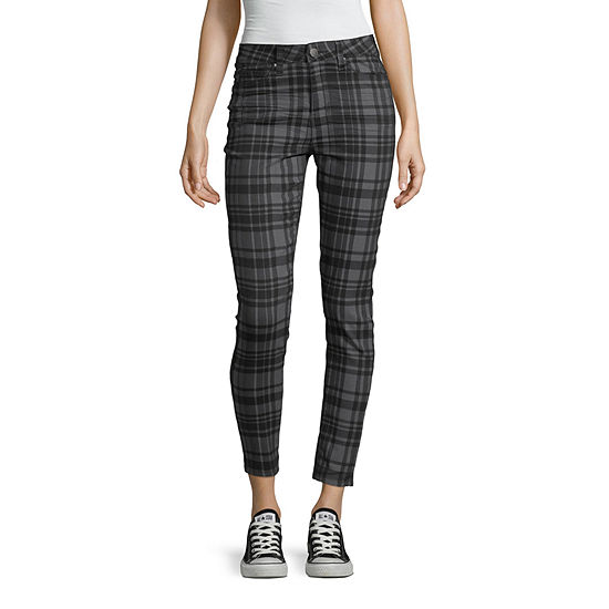 Ymi-Juniors Womens High Rise Skinny Fit Ankle Pant