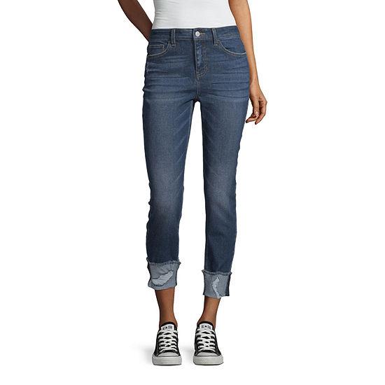 Vanilla Star - Juniors Womens Mid Rise Skinny Regular Fit Jean