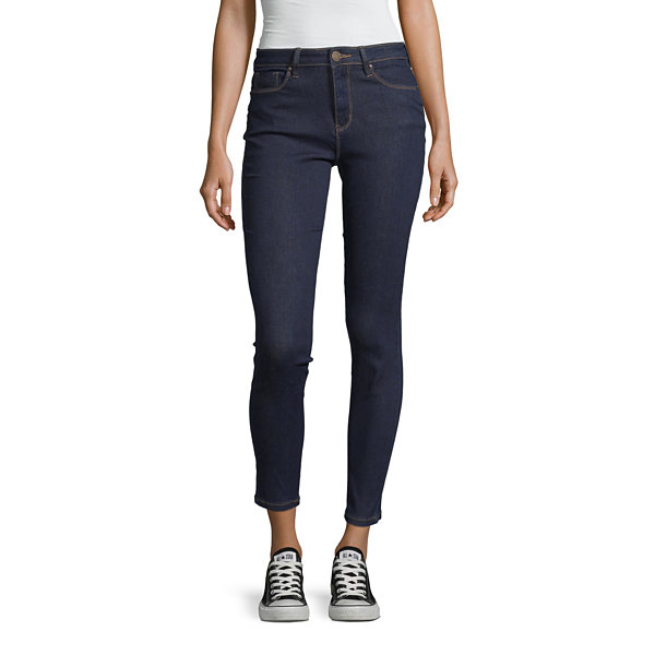 Ymi Womens High Waisted Skinny Regular Fit Jean - Juniors