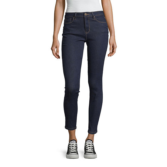 Ymi - Juniors Womens High Waisted Skinny Stretch Regular Fit Jean