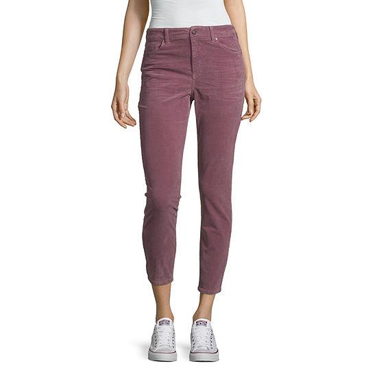 Rewash Womens High Rise Skinny Corduroy Pant - Juniors