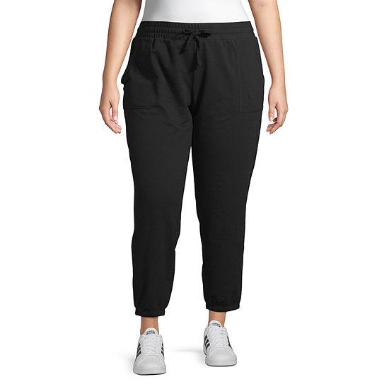 Arizona Womens Jogger Pant-Juniors Plus