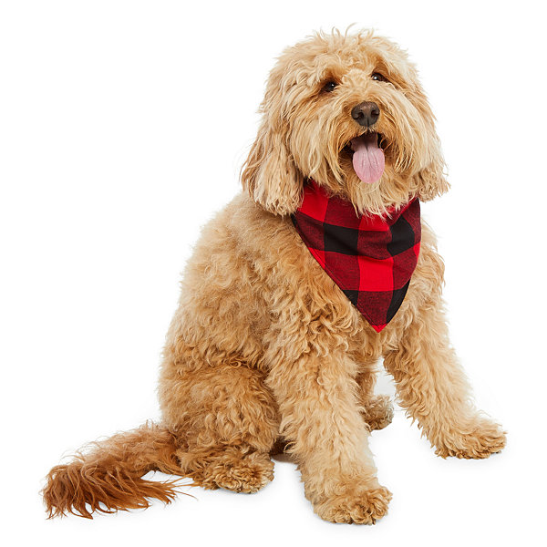 North Pole Trading Co. Buffalo Plaid Family Pet Bandana