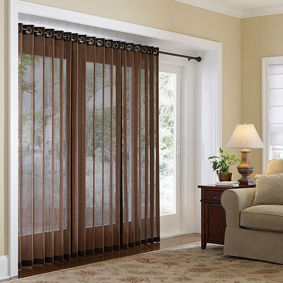 Jcpenney Curtains And Blinds.Jcpenney Home Naples Grommet Top Bamboo Panel
