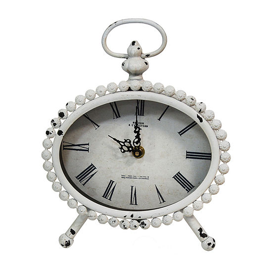 Stratton Home Allie Table Clock Table Clock S15036