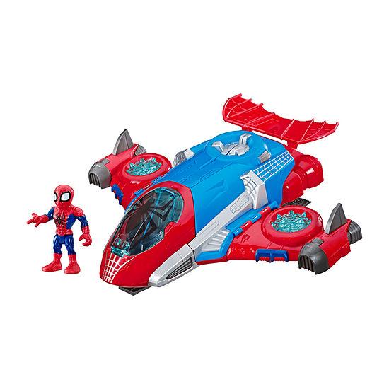 Marvel Super Hero Adventures Spider Man Jetquarters