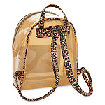 Arizona Lucite Cheetah Backpack