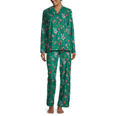 Disney Toy Story Family Women's Coat Front Pajama Set