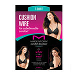 Maidenform Comfort Devotion Tailored Underwire T-Shirt Comfort Full Coverage Bra-09436