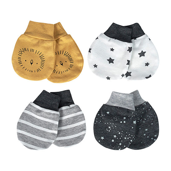 Just Born 4-pc. Unisex Baby Mittens-Baby