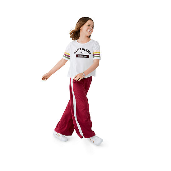 Arizona Girls Graphic Tee & Wide Leg Pant