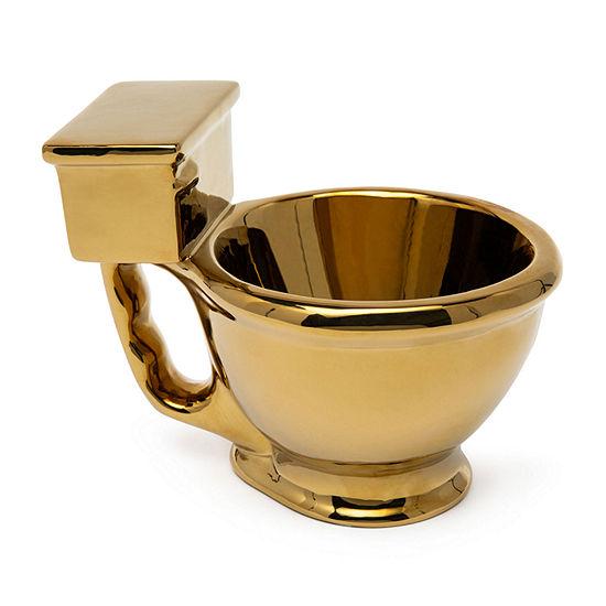 Big Mouth Inc.® Golden Toilet Bowl Mug