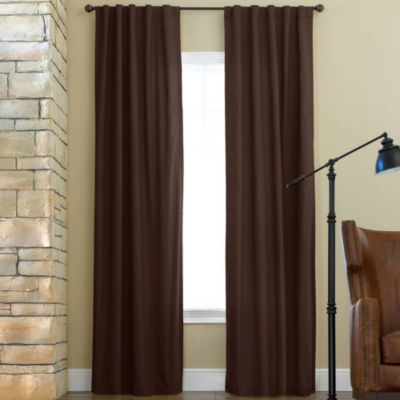 JCPenney Home Jenner Energy Saving Light-Filtering Back-Tab Single Curtain Panel