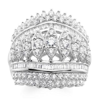 2 CT. T.W. Diamond 10K White Gold Ring
