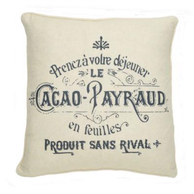 Levtex Lise Grey Square Decorative Pillow