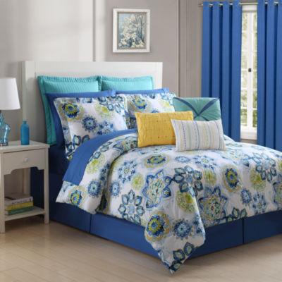 Fiesta Lavida Cotton Reversible Comforter Set