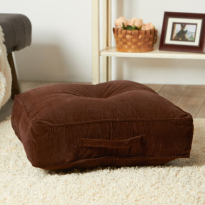 Greendale Home Fashions 20-inch Omaha Square Floor Pillow