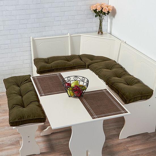 Greendale Home Fashions 4 Pc Cherokee Nook Cushion Set