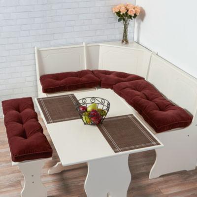 Greendale Home Fashions 4-pc. Hyatt Nook Cushion Set