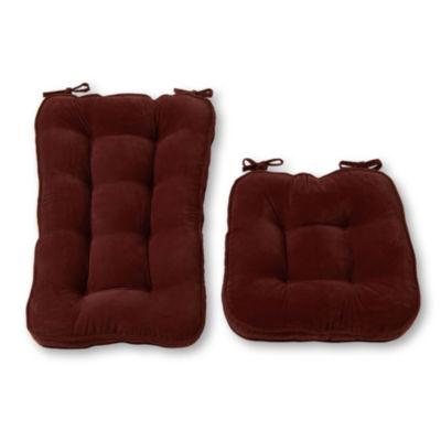 Greendale Home Fashions Jumbo Hyatt Rocking Chair Cushion Set