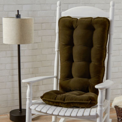 Jumbo Cherokee Rocking Chair Cushion Set