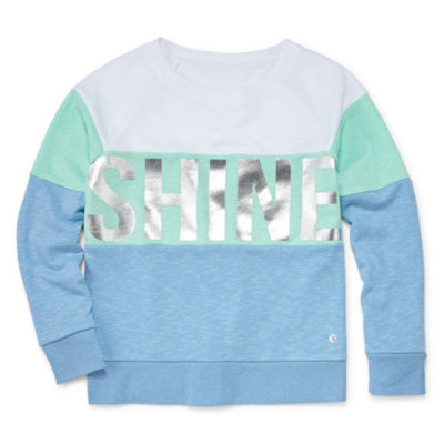Xersion Tri-Block Sweatshirt Girls 4-16