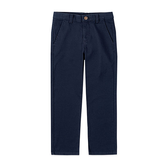 IZOD Little & Big Boys Slim Flat Front Pant