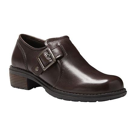 70s Shoes, Platforms, Boots, Heels | 1970s Shoes Eastland Womens Open Road Slip-On Shoe 10 Medium Brown $66.50 AT vintagedancer.com
