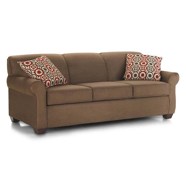 queen sofa bed. Sleeper Possibilities Roll-Arm Queen Sofa Bed