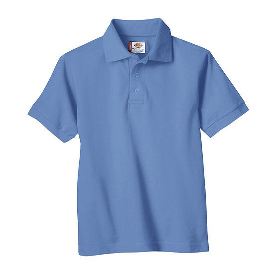 Dickies Little Boys Short Sleeve Wrinkle Resistant Polo Shirt