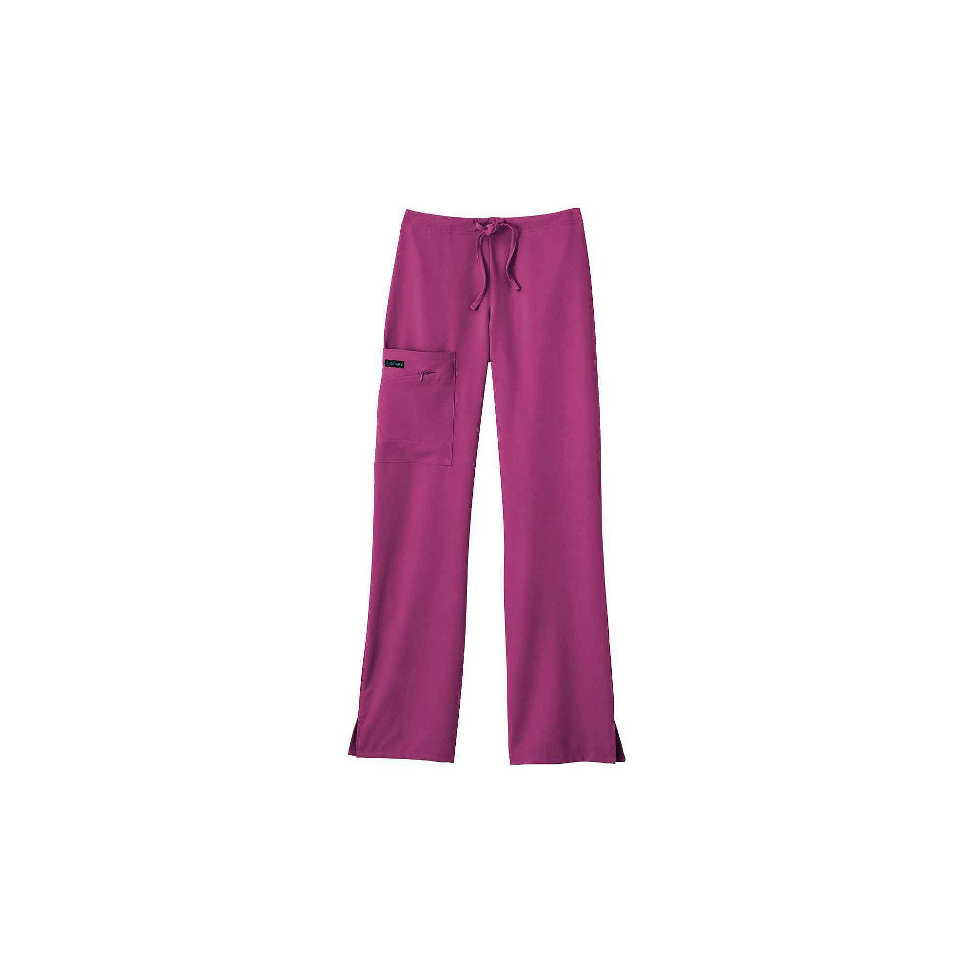 Jockey 4-Pocket Tie-Waist Scrub Pants - Plus plus size,  plus size fashion plus size appare