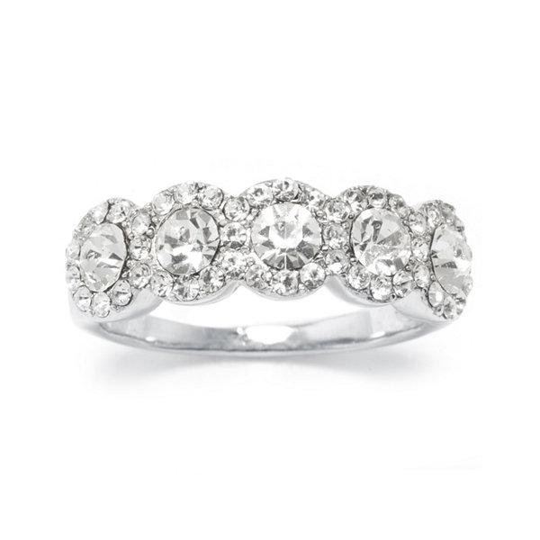 Sparkle Allure Crystal Cocktail Ring