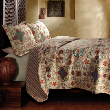 jcpenney.com | Greenland Home Fashions Esprit Spice Moroccan Quilt Set & Accessories