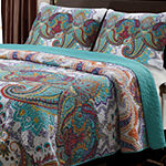 Greenland Home Fashions Nirvana Paisley Quilt Set