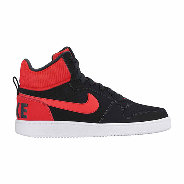 Nike® Mens Court Borough Mid Basketball Shoes JCPenney
