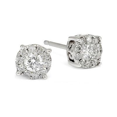 LIMITED QUANTITIES 1/2 CT. T.W. White Diamond 14K Gold Drop Earrings