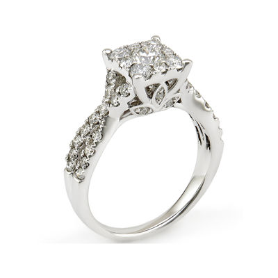 LIMITED QUANTITIES! 1 1/4 CT. T.W. Diamond 14K White Gold Ring