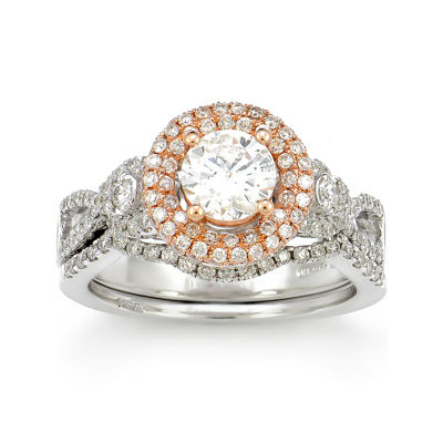 LIMITED QUANTITIES! 1 1/2 CT. T.W. Diamond 14K White Gold Ring