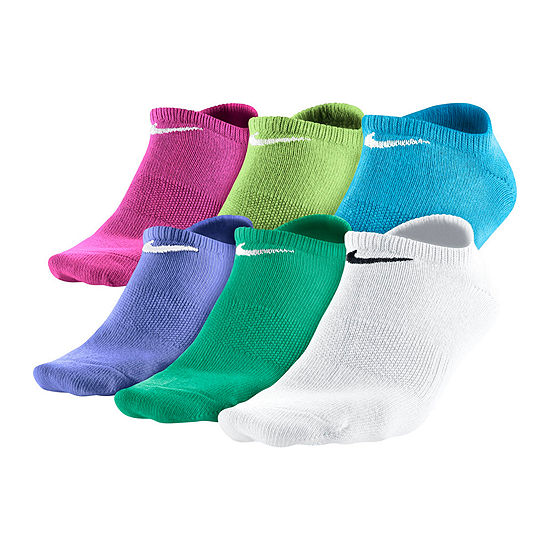Nike® 6-pk. Dri-FIT No-Show Socks - Girls
