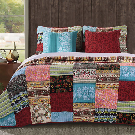 Greenland Home Fashions Boho Dream Quilt Set