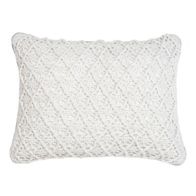 Croscill Classics® Embroidered Shells Boudoir Decorative Pillow