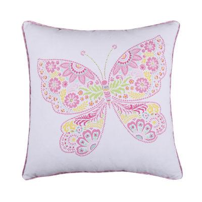 Levtex Ellie Butterfly Decorative Pillow