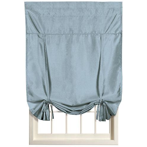 United Curtain Co. Anna Rod-Pocket Tie-Up Curtain Panel