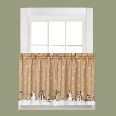 Aspen Snow Rod-Pocket Window Tiers