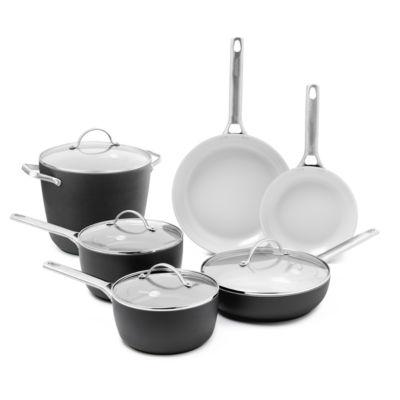 GreenPan™ Padova 10-pc. Hard-Anodized Nonstick Cookware Set