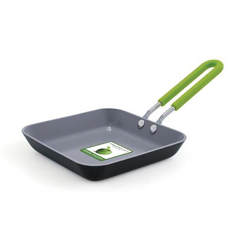 """GreenPan™ Mini 5"""" Ceramic Nonstick Square Egg Pan"""