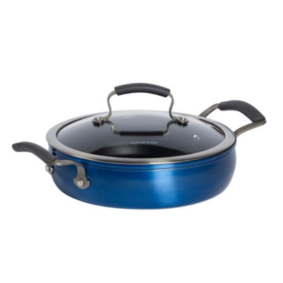 Epicurious 3-qt. Covered Sauteuse Pan with Lid